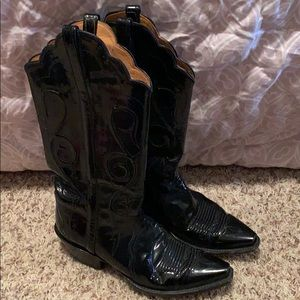 Hand made lucchese boots